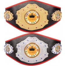Custom Champion Belt For MMA/Wrestling/Karate/Fantasy Football/Volleyball/Softball/Golf/Powerlifting/Grappling Tournaments