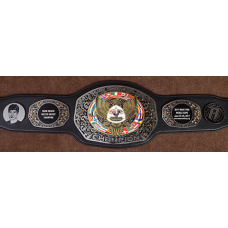 Muay Thai Custom Champion Belt