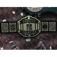 Gold Plated Fantasy Sports Tournament Champion Belt FOR Softball, Basketball, Baseball, Fastpitch, Golf, Tennis, Football, Soccer, Volleyball Tournaments