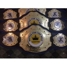 Custom Champion Belts for Fantasy Sports Tournaments Like Softball, Baseball, Basketball, Volleyball, Rugby, Fastpitch, Soccer, Golf, Hockey, Football Etc
