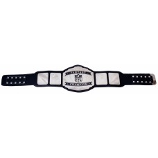 Chrome/Silver Plated Custom Champion Belts for Fantasy Sports Tournaments and Championships Football, Baseball, Softball, Basketball, Hockey, Golf Etc